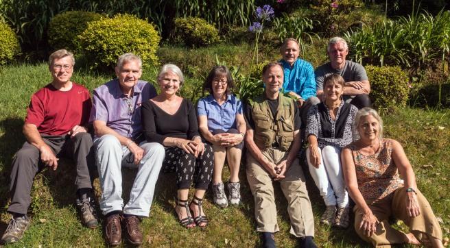 David C, Phil, Laura, Margie, Tim, David B, Ken, Loey, and Sara