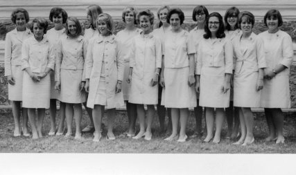 Graduating Girls