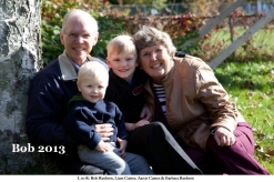 Bob Rushton and family