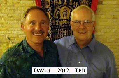 David & Ted in Thailand