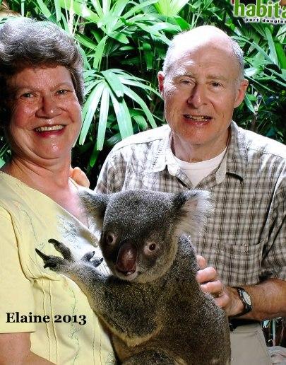 Elaine Lomperis and husband
