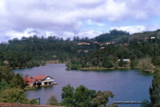 Kodai Lake from Block Dorm
