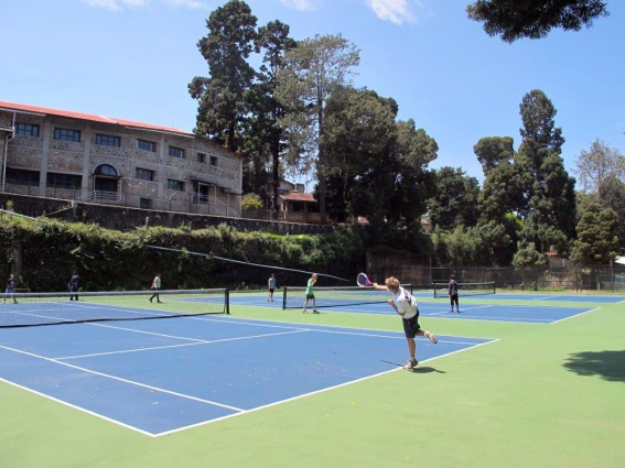 New hard surface courts