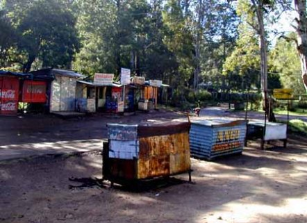 Shops - Bryant Park 2004