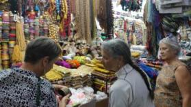 Shopping Under the Temple in Madurai